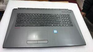 MSI SteelseriesGL75 95D Palmrest TopCover Keyboard V143422KK1 UK GREY/Red PR130