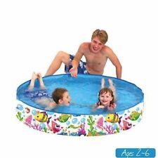 Nadar y remar Mar Mundo Rígido piscina (120x25cm)