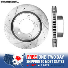 FITS 2013 Acura ILX Base SLOTTED Brake Rotors Ceramic SLV Replacement Parts