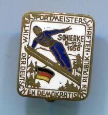 Abzeichen von 1950 : Wintersport-Meisterschaften der DDR in Schierke