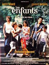 Affiche 40x60cm LES ENFANTS (2005) Gérard Lanvin, Karin Viard, Nicolas Jouxtel