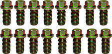 "Ford V8 Zinc 3/8-16 x 3/4"" 16pc Header Bolt Kit 289 302 351W 351C 390 460"