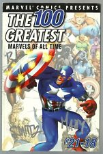 SIGNED The 100 Greatest Marvels of All Time Volume 1 #2 December 2001