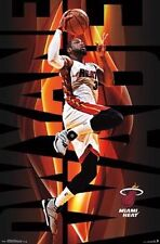 Dwyane Wade - Dunk - Miami Heat - NBA Basketball Poster