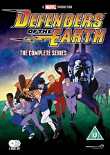 Defenders Of The Earth DVD Complete Animated Cartoon 1986-1987 TV Series Box Set