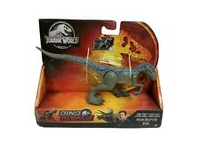 Jurassic World Dino Rivals Savage Strike Wave 2 Velociraptor Blue Jurassic Park
