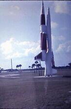 Orig Slide, 1970 - Military Rocket / War Head on Display