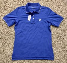 New with Tags Womens Peter Millar Polo Medium M Blue