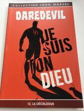 DAREDEVIL 100% Marvel  N° 12 Panini Comics Etat Neuf Je Suis Ton Dieu Décalogue