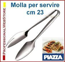 MOLLA PER SERVIRE PINZA BUFFET CATERING RISTORANTE TAVOLA CM 23 PINZE in ACCIAIO