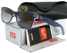 7465e3af90 Ray-Ban New Wayfarer Top Matte Blue l Polarized Grey Gradient RB2132 6053M3  55mm