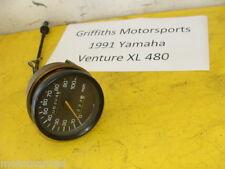 91 92 93 YAMAHA Venture XL VT480XL 88T OEM speedometer gauge trip reset speedo