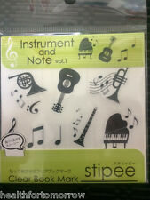 Japan Stipee Instrument and Note Book Marks- Student Kids Birthday Holidy Gifts