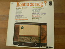 LP RECORD VINYL PHILIPS BUIZENRADIO COVER KENT U ZE NOG KILIMA HAWAIIANS,HARTWEG