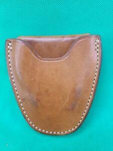 Vintage El Paso Saddlery Leather Belt Hand Cuff Case
