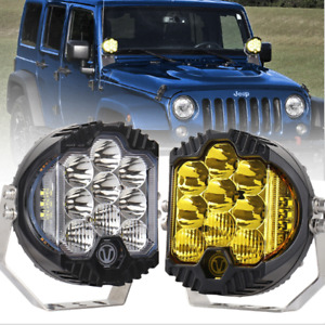 5 Inch 50W LED Work Light Pods Spot Flood Combo Fog Lamp Offroad 4WD Driving Car