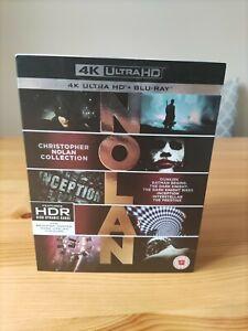 Christopher Nolan Collection 4K Ultra HD + Blu-ray