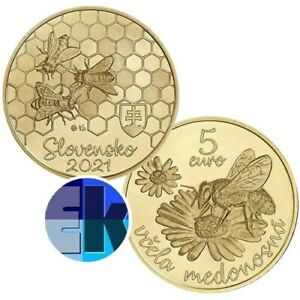 Ek // 5 euro Slovaquie 2021 Amende