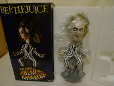 Neca Cult Classic Beetlejuice Michael Keaton Bobble Head Knocker Figure Statue