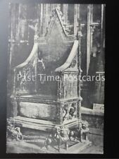 Old PC London: Westminster Abbey, Coronation Chair