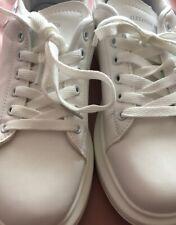 Size 6/39 White Platform Trainers