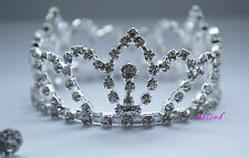 Stunning Crystal Luxury Wedding Bridal Party /Pageant Prom Tiara Crown UK 055