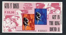1993 Guns n Roses The Cult Soul Asylum concert ticket stub De Goffert Nijmegen
