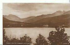 Scotland Postcard -Tarbet and The Cobbler - Loch Lomond - Real Photograph ZZ1828