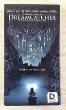 Dreamcatcher Morgan Freeman Jason Lee Tom Sizemore (VHS, 2003, Pan Scan)