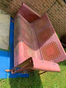 New 50's style retro antique Bunting glider, very rare, red, as in condition