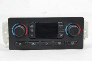 Hummer H2 03-07 Climate Control Genuine GM AC Delco OEM Replacement
