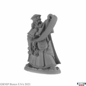 DAMRAS DEVERIL, WIZARD Reaper Bones USA Miniatures REM30007 D&D