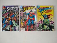 Superman mixed copies. Lot of 3 (DC Comics)