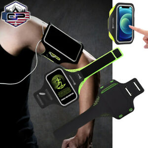 For iPhone 12 Pro Max 11 XS Armband Case Running Sports Phone Holder Waterproof