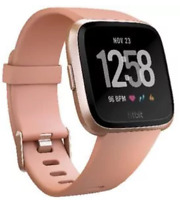 Fitbit Versa Smart Fitness Watch Black Lavender Rose gold Charcoal smoke
