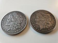 Harvey Dent Two Face Münze Neusilber Batman Dark Knight Liberty coin PLURIBUS