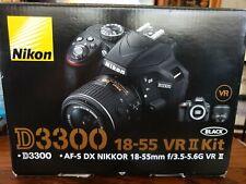 Nikon D D3300 24.2Mp Digital Slr Camera - Black (Kit w/ Af-S Dx Vr Ii 18-55mm L…
