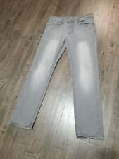 Mens Jeans Grey Flypaper 32x30 slim fit