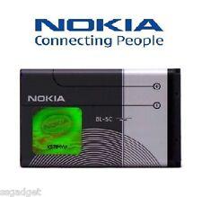 NOKIA BL-5C BATTERY 1020mAh FOR NOKIA PHONES ORIGINAL WITH WARRANTY