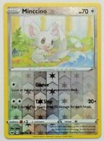 Minccino 145/202 Reverse Holo, Pokemon TCG Sword and Shield