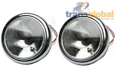 "Land Rover Série 1,2 (58-61) Acier 7"" projecteur Light Bowl Kit x2-Bearmach"