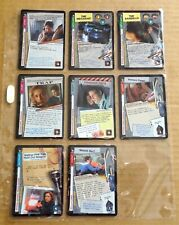 THE X-FILES PREMIERE EDITION CCG/TCG SLEEVE OF 8 x UNCOMMON CARDS  NEW/1996  (L)