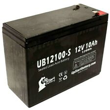 12V 10Ah Sealed Lead Acid Battery For Gruber Power Services 58-GPS-12-10F2