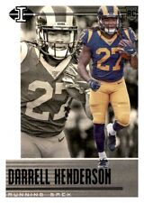 2019 Illusions Black Retail Darrell Henderson Foil Parallel Rookie RC PWE Rams