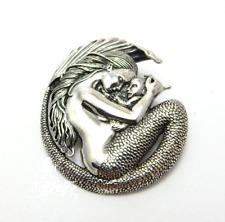 Motherhood Mermaid and Baby pendant by fantasy artist Selina Fenech sterling 925