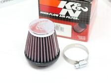 K & N Sportluftfilter RC-2310, Chrom, ø 40 mm, L 76 mm, Rund konisch