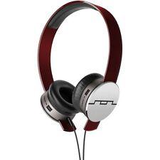 Sol Republic Tracks Hd Rojo en Auriculares y micrófono V10 sonido del motor 1241-03