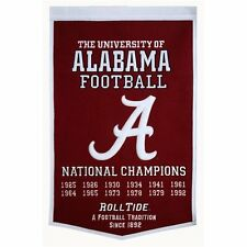 NCAA College Wimpel Pennant Banner ALABAMA CRIMSON TIDE Dynasty National Champs