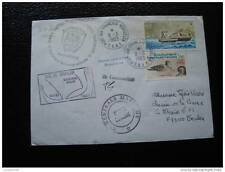 TAAF lettre 8/3/83 - timbre stamp - yvert et tellier n°95 97 (cy7)