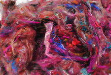Heidifeathers® Carded Sari Silk 20g For Felting, Paper Making